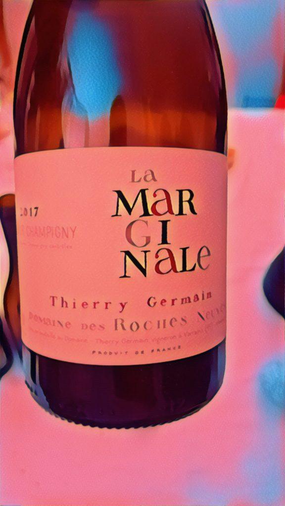 Thierry Germain, Domaine des Roches Neuves, La Marginale 2017