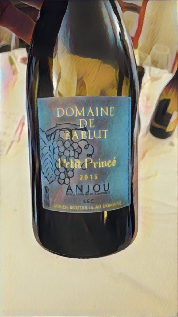 Domaine de Bablut, Petit Princé, Anjou 2015