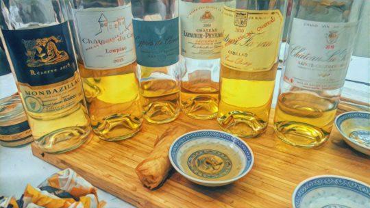 Les douceurs dorées de Cédrig: les Fines Goules se sucrent le bec avec les liquoreux bordelais