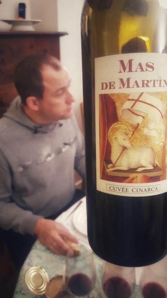 France, Languedoc, Côteaux du Languedoc Grès de Montpellier, Mas de Martin (Christian Mocci), Cinarca 2013