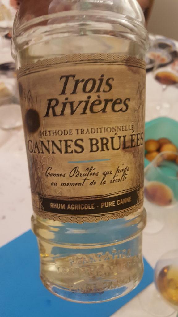 Trois Rivières, rhum agricole, Cannes brulées