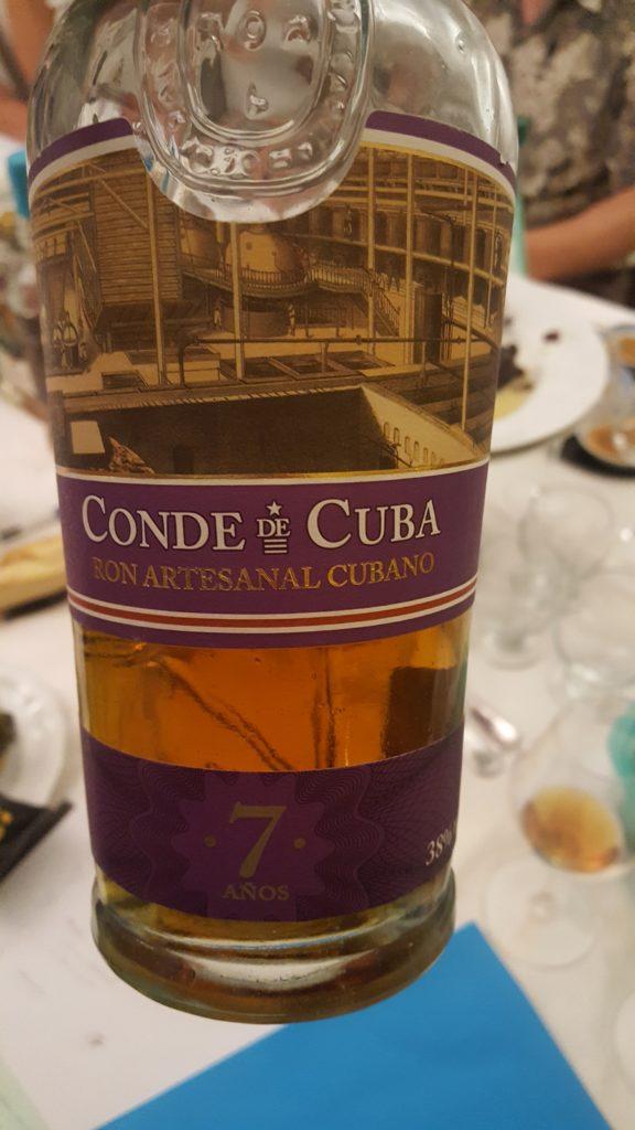 Ron artesanal cubano, Conde de Cuba, 7 años