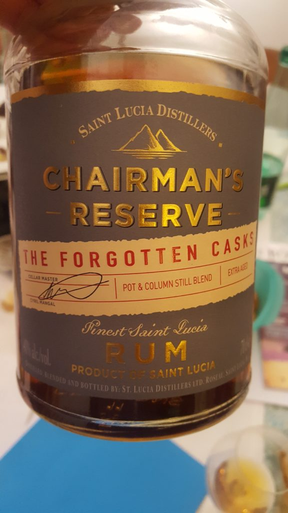 Rum Saint Lucia, Chairman's reserve, the forgotten casks