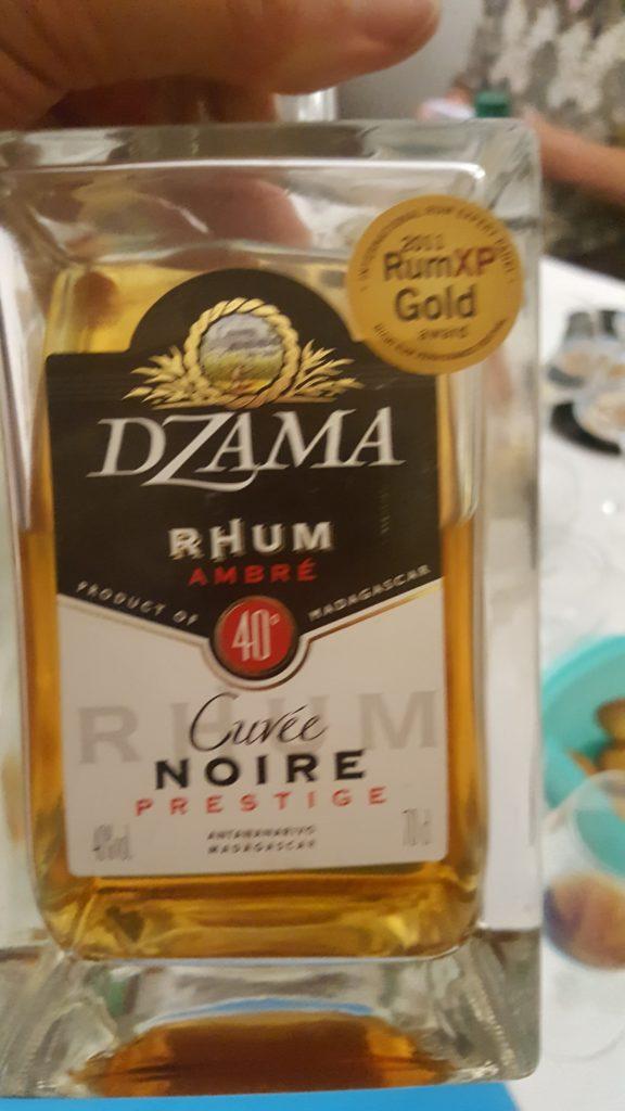 Rhum ambré, Dzama, cuvée Noire prestige