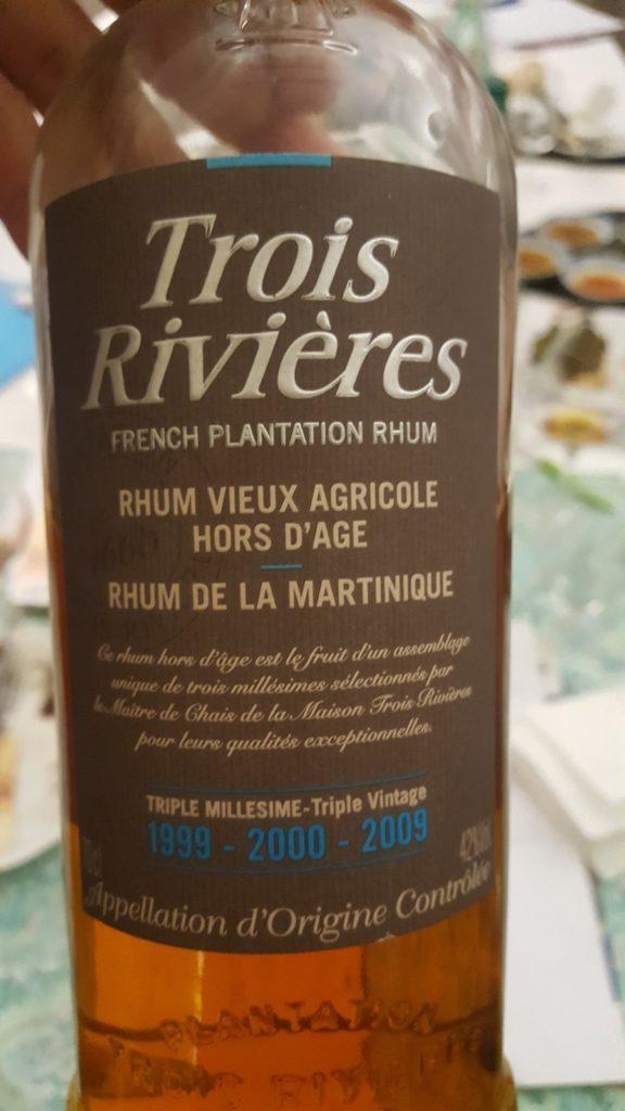 Rhum Trois rivières, Vieux agricole hors d'âge, triple millésime 1999-2000-2009